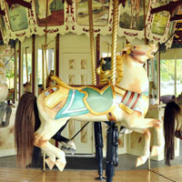 Carousel in Congress Park